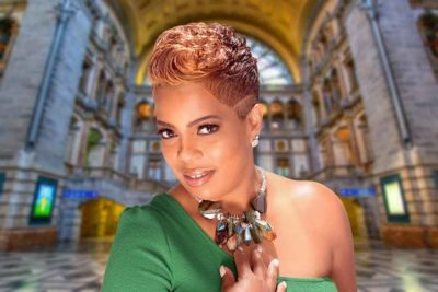 Curly Short Pixie Cut for Black Women